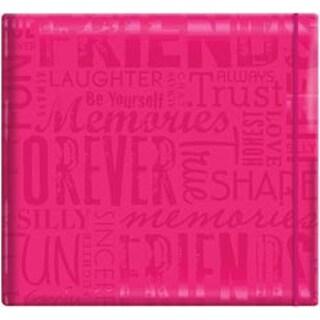 """Friends - Pink - Gloss Post Bound Scrapbook 12""""X12"""""""