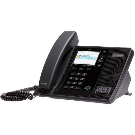 Refurbished Refubished Polycom CX600 Corded VoIP Phone w/ Optimized For Microsoft Lync- 2200-15987-025