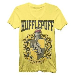 Harry Potter Hufflepuff House Juniors T-shirt