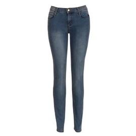 Monkee Genes Silhouette Organic Skinny Jeans in Bamboo Wash