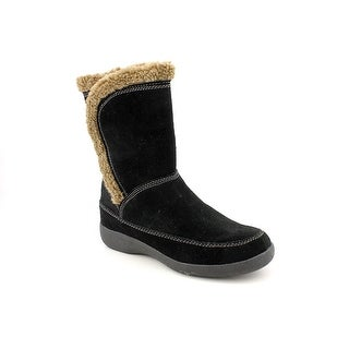 Easy Spirit Warm Feet Women W Round Toe Suede Winter Boot
