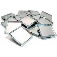 Mosaic Mercantile - Crafter's Cut Mirror Tiles - 1/2 lb. Bag