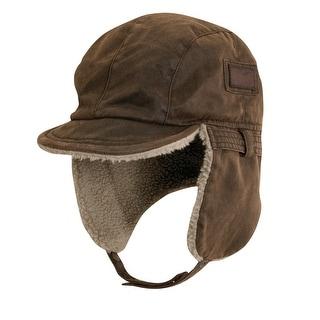 DPC Outdoor Design Men's Weathered Cotton Bomber hat
