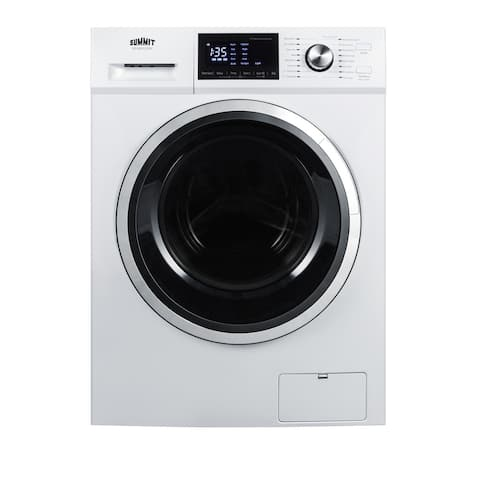 """Summit SPWD2202 24"""" Wide 2.7 Cu. Ft. Front Loading Washer/Dryer Combo - White"""
