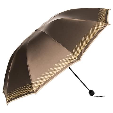 Bright Stylish UV Protection Sunshade Rain Cover Travel Umbrella - L