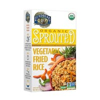 Lundberg Family Farms Organic Sprouted Rice - Vegetable Fried - Case of 6 - 6 oz