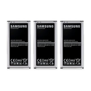Replacement EB-BG900BBU Battery for Samsung Galaxy S5 Sport Sprint Cell Phone Models (3 Pack)