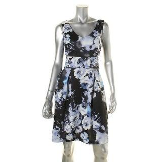 American Living Womens Casual Dress Matte Jersey Box Pleat