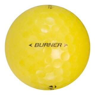 24 TaylorMade Burner Yellow - Value (AAA) Grade - Recycled (Used) Golf Balls
