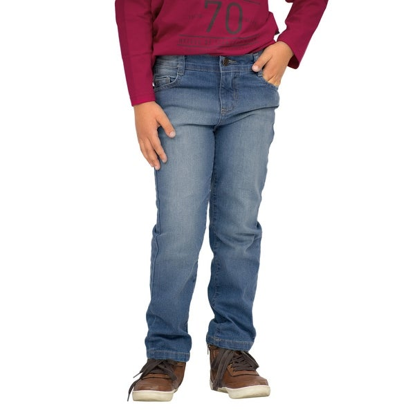 Pulla Bulla Little Boys' Premium Straight Fit Jeans