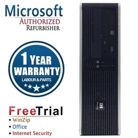 Refurbished HP Compaq DC5700 Small Form Factor Core 2 Duo E6400 2.13G 2G DDR2 80G DVD WIN7 Home Premium 32 1 Year Warranty