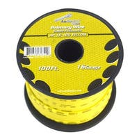 Audiopipe 16 gauge 100ft Yellow primary wire