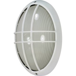 Nuvo Lighting 60/528 Single Light Oval Ambient Lighting Outdoor Bulk Head