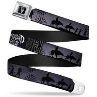 Smaug Icon Full Color Black Gray Gundabad Orcs Hunter Orc Silhouettes Seatbelt Belt
