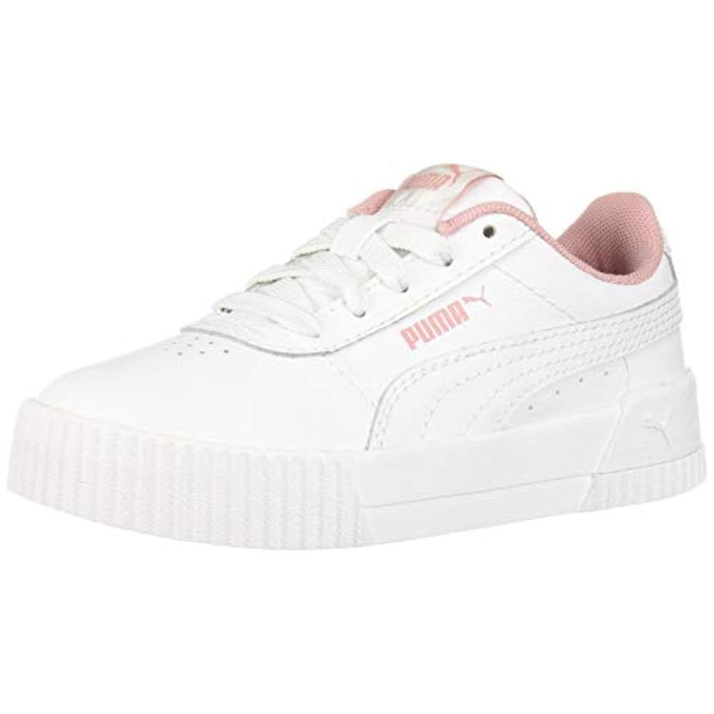 Shop PUMA Women's Carina Sneaker White