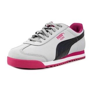 Puma Roma Iri Nbk Jr Girl Gray/Pewter/Pink Athletic Shoes