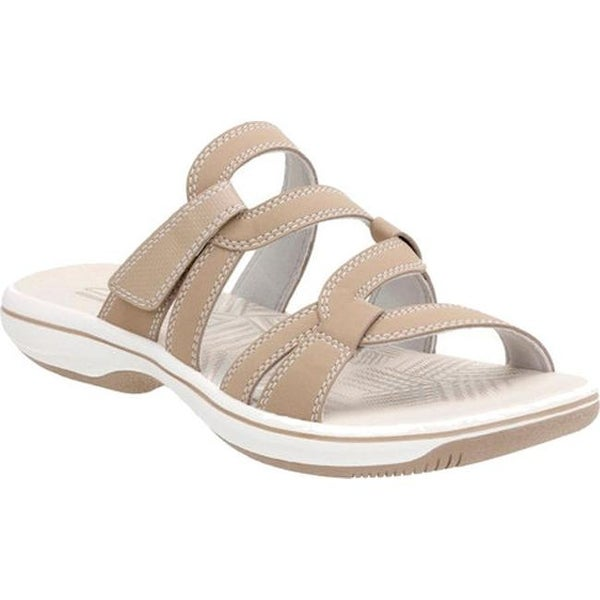 1d2ef2368 ... Women s Shoes     Women s Sandals. Clarks Women  x27 s Brinkley Lonna  Strappy Sandal Taupe Synthetic