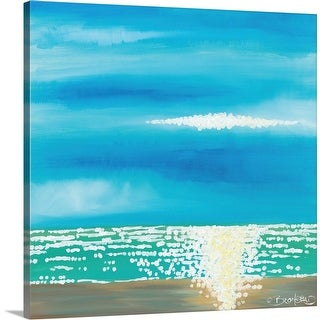 """Blue by Me"" Canvas Wall Art"