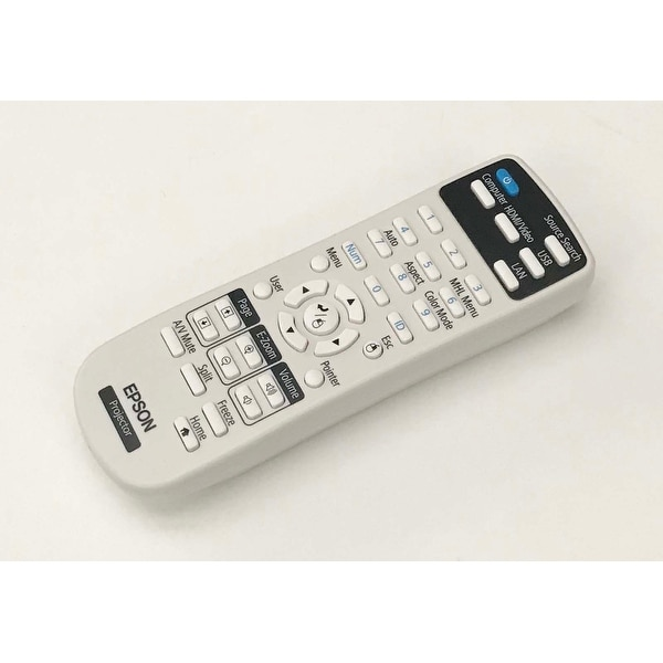OEM Epson Projector Remote Control Shipped With VS355, VS250