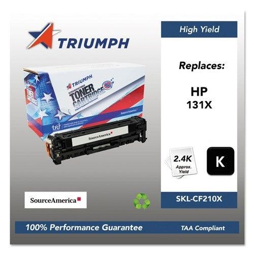 Triumph Remanufactured 131X High-Yield Toner Cartridge - Black Toner Cartridge