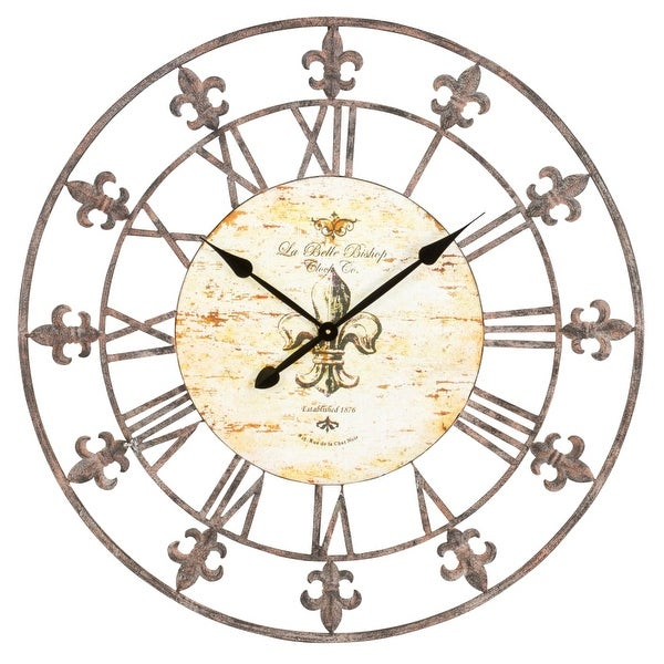 36 wall clock 20 inch aspire home accents 13813 36 shop