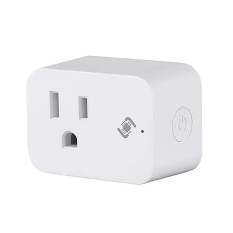 Monoprice Wireless Smart Plug Mini With Energy Monitoring & Reporting by STITCH