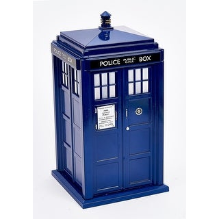 """9"""" Doctor Who TARDIS Lighted Treetopper"""
