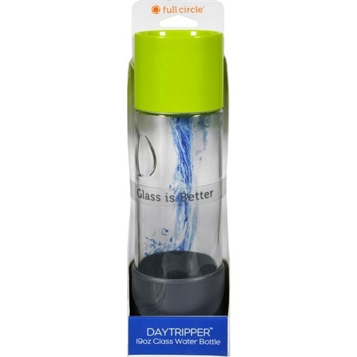 """Full Circle Home Daytrip Beverage Bottle - Lime Green Water Bottles"""