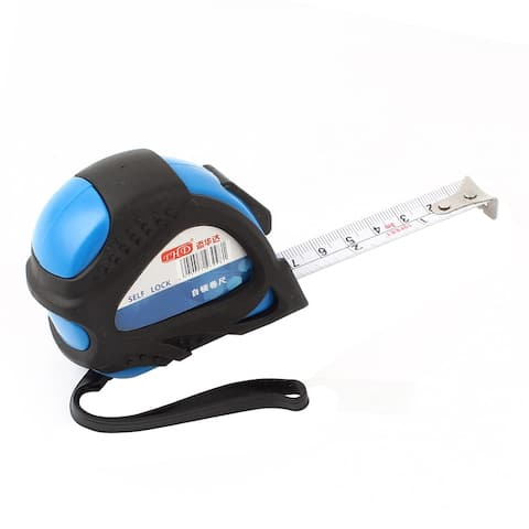 Unique Bargains 10-Foot Retractable Inch/Metric Steel Tape Measure with Hand Strap