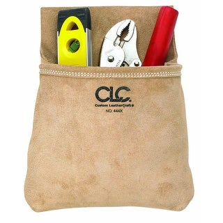 CLC 444X ToolWorks Single Pocket Suede Tool Pouch