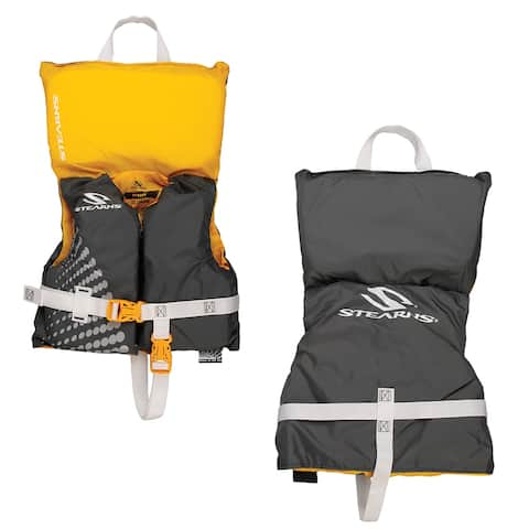 Stearns classic infant life jacket up to 30lbs gold rush