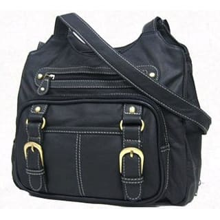 Concealed Carry Purse - Genuine Leather Locking Gun Bag Left & Right Draw, Black|https://ak1.ostkcdn.com/images/products/is/images/direct/0ec7d831c945fb495d04c7d64b57f0e470d10ca7/Concealed-Carry-Purse---Genuine-Leather-Locking-Gun-Bag-Left-%26-Right-Draw%2C-Black.jpg?impolicy=medium