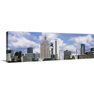 """Skyscrapers in a city, St. Paul, Minnesota"" Canvas Wall Art"