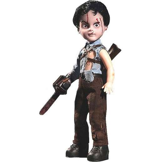 "Living Dead Dolls Presents: Evil Dead 2 Ash 10"" Collectible Doll - multi"
