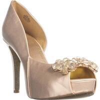 Nine West Cassedi Peep-Toe Pump Heels, Light Pink - 10 us