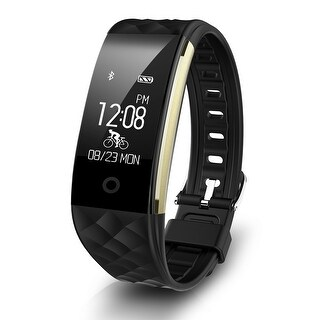 Smart Sports Fitness Tracker Heart Rate Bracelet Monitor Call/Notification reminder IP67 Waterproof for Android IOS