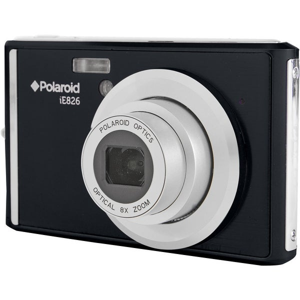 Polaroid iE826 Digital Camera (Black)