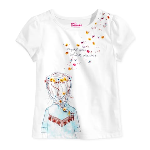 Epic Threads Girls Beyond Yours Graphic T-Shirt - 3T