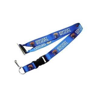 Kentucky Wildcats Clip Lanyard Keychain Id Ticket NCAA Blue