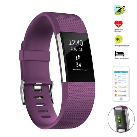 Fitness Tracker, Heart Rate Monitor Activity Tracker, Bluetooth Wireless Smart Wristwatch for Android & IOS