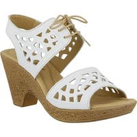 Spring Step Women's Lamay White Leather