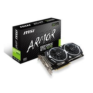 Msi - Nvidia - Gtx 1070 Armor 8G Oc|https://ak1.ostkcdn.com/images/products/is/images/direct/0ecc3d467b0f058e402ce052dc146d601286d8b3/Msi---Nvidia---Gtx-1070-Armor-8G-Oc.jpg?impolicy=medium