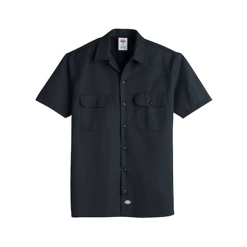 Short Sleeve Work Shirt - Long Sizes