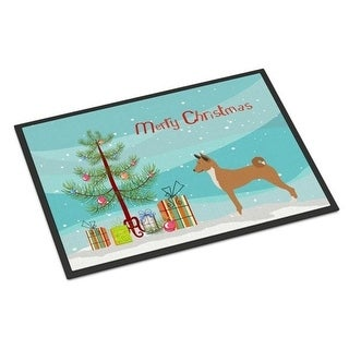 Carolines Treasures BB8495JMAT Telomian Christmas Indoor or Outdoor Mat 24 x 36 in.