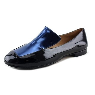 Robert Clergerie Adita Women  Round Toe Patent Leather  Flats