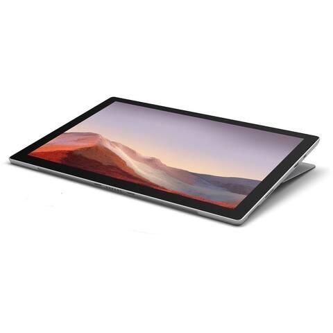 "Microsoft Surface Pro 7 12.3"" Tablet 128GB WiFi X21.2GHz,Platinum(Certified Refurbished) - Platinum"