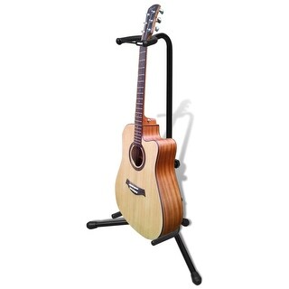 vidaXL Adjustable Single Guitar Stand Foldable