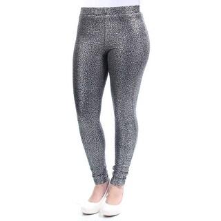 BAR III $50 Womens New 1251 Silver Casual Leggings XS B+B