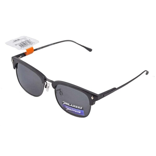 fafa3d3029 Shop Peppers Polarized Sunglasses Dylan Dark Grey Tortoise with Smoke Lens  - Free Shipping Today - Overstock.com - 15342477