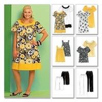 Rr (18W-20W-22W-24W) - Women's Tops; Dresses; Shorts And Capri Pants